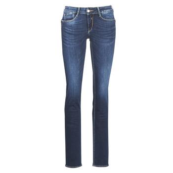 Kleidung Damen Straight Leg Jeans Le Temps des Cerises PULP REGULAR Blau