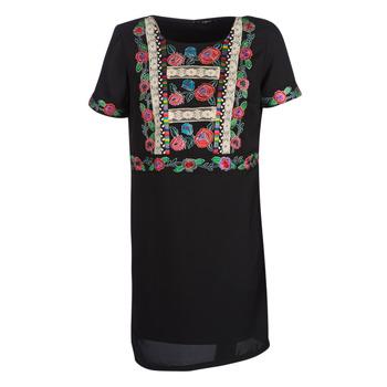 Abbigliamento Donna Abiti corti Desigual TRALEE Nero