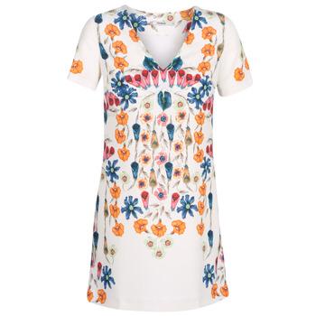 Kleidung Damen Kurze Kleider Desigual CORK Weiß