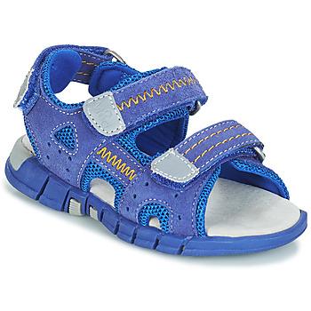 Chaussures Garçon Sandales sport Mod'8 TRIBATH Bleu
