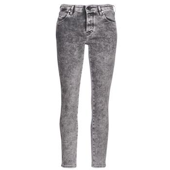 Kleidung Damen Slim Fit Jeans Diesel BABHILA Grau