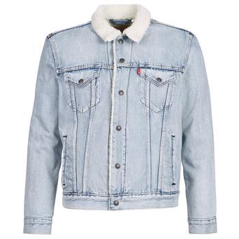 Abbigliamento Uomo Giacche in jeans Levi's TYPE 3 SHERPA TRUCKER