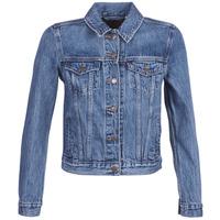 Kleidung Damen Jeansjacken Levi's ORIGINAL TRUCKER Blau