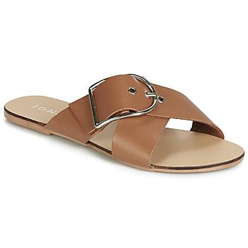 Schuhe Damen Pantoffel Jonak JASMINE Cognac
