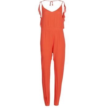 Vêtements Femme Combinaisons / Salopettes See U Soon GARAGAI Rouge