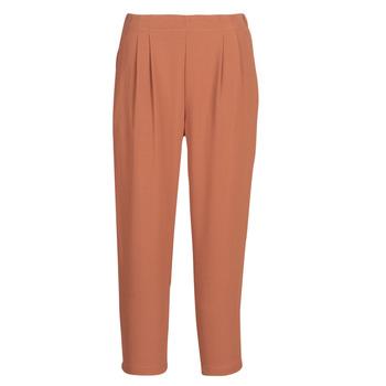 Abbigliamento Donna Pantaloni morbidi / Pantaloni alla zuava See U Soon GARAGACI Ocre
