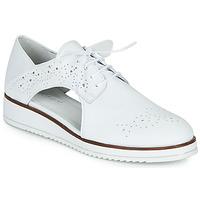 Schuhe Damen Derby-Schuhe Regard RIXAMU V1 NAPPA BLANC Weiss