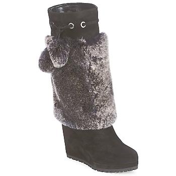Chaussures Femme Bottes ville Sebastian NIGOK Noir