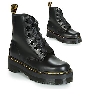 Chaussures Femme Boots Dr Martens MOLLY Noir