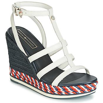 Schuhe Damen Sandalen / Sandaletten Tommy Hilfiger VANCOUVER 7A Weiß
