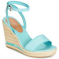 Chaussures Femme Sandales et Nu-pieds Tommy Hilfiger ELENA 78C Bleu ciel