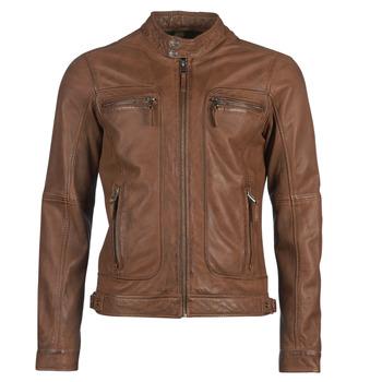 Vêtements Femme Vestes en cuir / synthétiques Oakwood CASEY Cognac