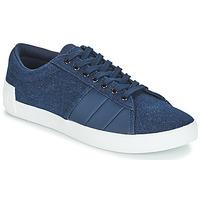 Schuhe Herren Sneaker Low Le Coq Sportif FLAG Blau