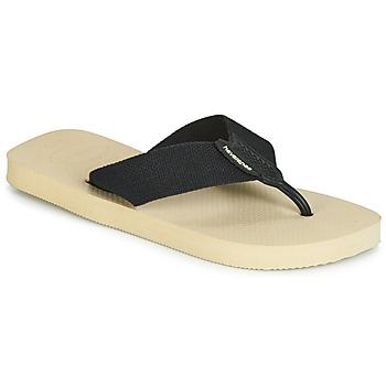 Schuhe Herren Zehensandalen Havaianas URBAN BASIC Beige