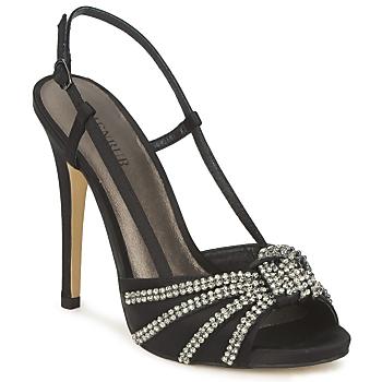 Schuhe Damen Sandalen / Sandaletten Menbur ACER Schwarz
