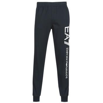 Abbigliamento Uomo Pantaloni da tuta Emporio Armani EA7 TRAIN LOGO SERIES Marine