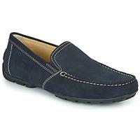 Schuhe Herren Slipper Geox MONET Blau