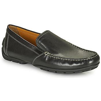 Chaussures Homme Mocassins Geox MONET Noir