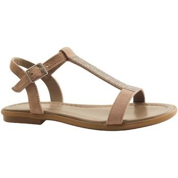 Chaussures Femme Sandales et Nu-pieds Reqin's TILSSI TAUPE