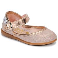 Chaussures Fille Ballerines / babies Citrouille et Compagnie JARITO Rosé bronze