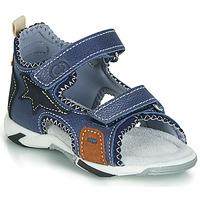 Schuhe Jungen Sandalen / Sandaletten Citrouille et Compagnie JATILEME Blau / Hell