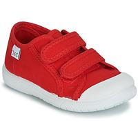 Chaussures Enfant Baskets basses Citrouille et Compagnie GLASSIA Rouge