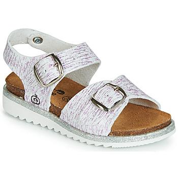 Schuhe Mädchen Sandalen / Sandaletten Citrouille et Compagnie JANETTA Weiß