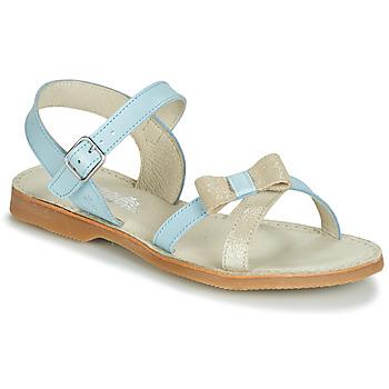 Schuhe Mädchen Sandalen / Sandaletten Citrouille et Compagnie JISCOTTE Blau / Hell