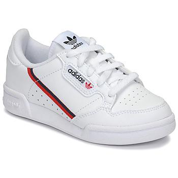 Chaussures Enfant Baskets basses adidas Originals CONTINENTAL 80 C Blanc