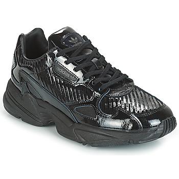 Chaussures Femme Baskets basses adidas Originals FALCON W Noir / glitter