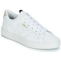 Chaussures Femme Baskets basses adidas Originals adidas SLEEK W Blanc