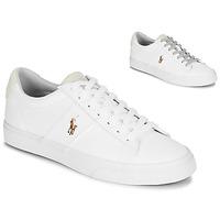 Schuhe Herren Sneaker Low Polo Ralph Lauren SAYER Weiß