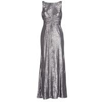 Vêtements Femme Robes longues Lauren Ralph Lauren SLEEVELESS EVENING DRESS GUNMETAL Gris Argenté