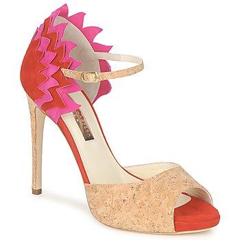 Schuhe Damen Sandalen / Sandaletten Rupert Sanderson FLAMANTE Rot