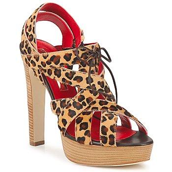 Chaussures Femme Sandales et Nu-pieds Rupert Sanderson BRISE Léopard