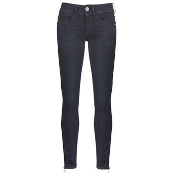 Vêtements Femme Jeans skinny G-Star Raw LYNN ZIP MID SKINNY ANKLE Bleu Dark Aged Cobler