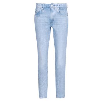 Vêtements Femme Jeans droit G-Star Raw RADAR MID BOYFRIEND TAPERED Bleu Light Aged
