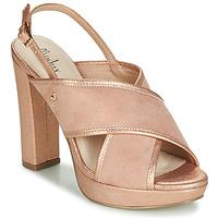 Schuhe Damen Sandalen / Sandaletten Menbur VILLALBA Gold