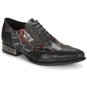 Chaussures Homme Richelieu New Rock SALSO Noir