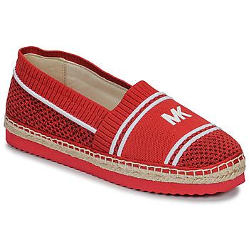 Chaussures Femme Espadrilles MICHAEL Michael Kors RAYA Rouge