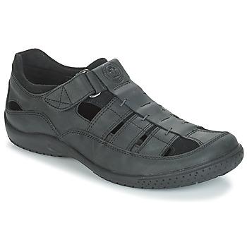 Schuhe Herren Sandalen / Sandaletten Panama Jack MERIDIAN Schwarz