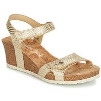 Schuhe Damen Sandalen / Sandaletten Panama Jack JULIA Gold