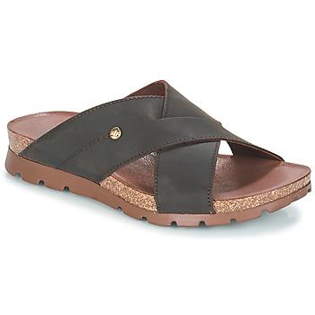 Schuhe Herren Pantoffel Panama Jack SALMAN Braun,