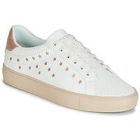 Scarpe Donna Sneakers basse Esprit Colette Star LU Bianco / Rosa / Oro