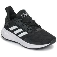 Chaussures Enfant Running / trail adidas Performance DURAMO 9 K Noir / Blanc
