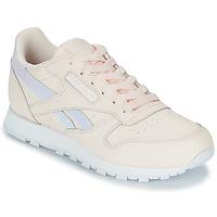 Schuhe Mädchen Sneaker Low Reebok Classic CLASSIC LEATHER Rose