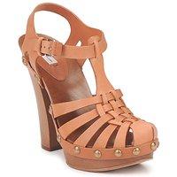 Schuhe Damen Sandalen / Sandaletten Marc Jacobs MJ18051 Beige