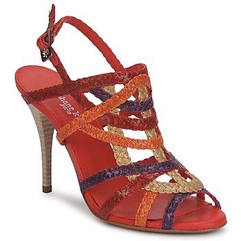 Chaussures Femme Sandales et Nu-pieds Stéphane Kelian OPERA BRONZE-MULTICOLORE