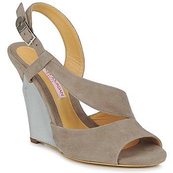 Schuhe Damen Sandalen / Sandaletten Charles Jourdan PALOMA Vison