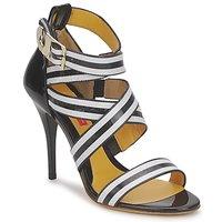 Schuhe Damen Sandalen / Sandaletten Charles Jourdan BARBARA Weiß